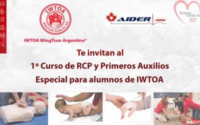 Curso de RCP y Primeros Socorros para alumnos e instructores de  IWTOA WingTsun Argentina®