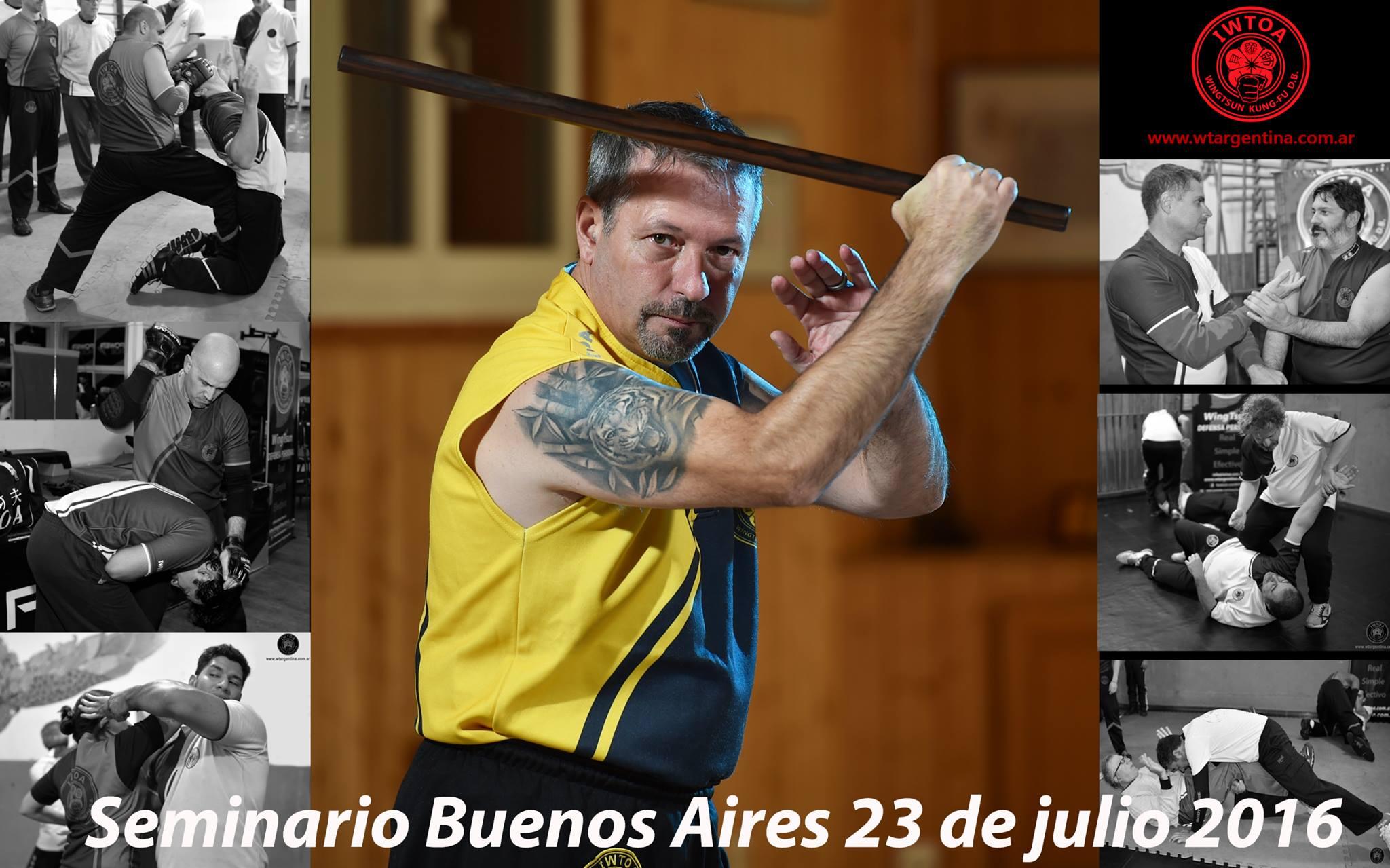 Seminario WingTsun Buenos Aires Julio 2016